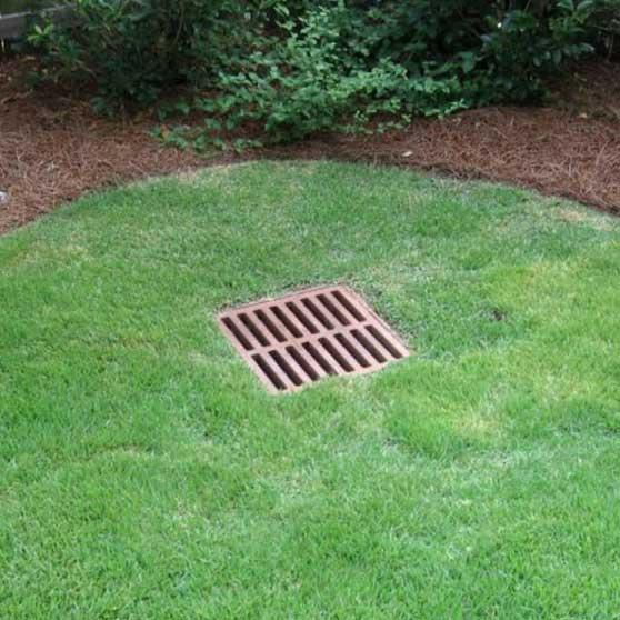 lawn drainage services